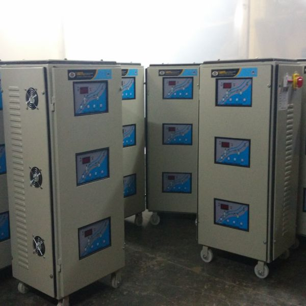 20 KVA Three Phase Servo Voltage Stabilizer