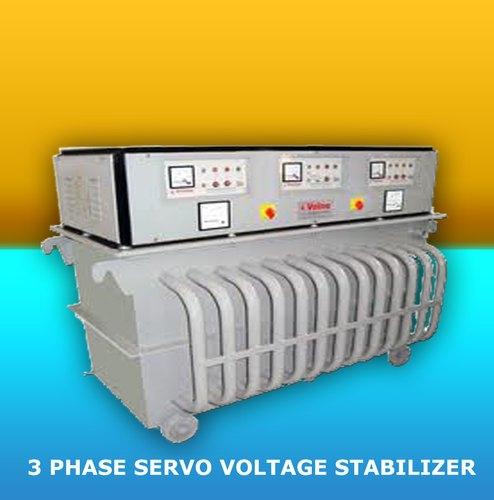 D360450 450 KVA Three Phase Servo Voltage Stabilizer