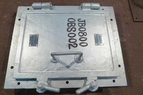 Boiler Furnace Door