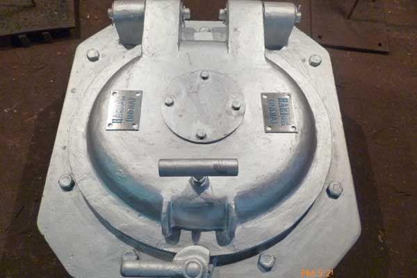 Boiler Oval Access Door