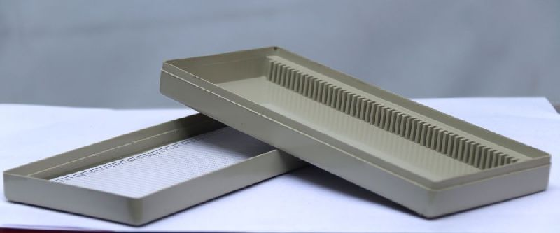 50 cap Plastic Slide Box