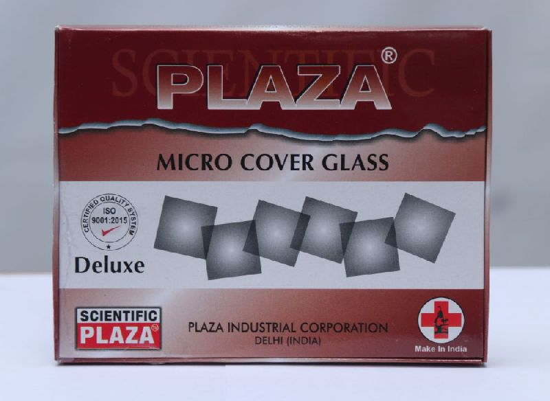 Plaza Deluxe Microscope Cover Glass