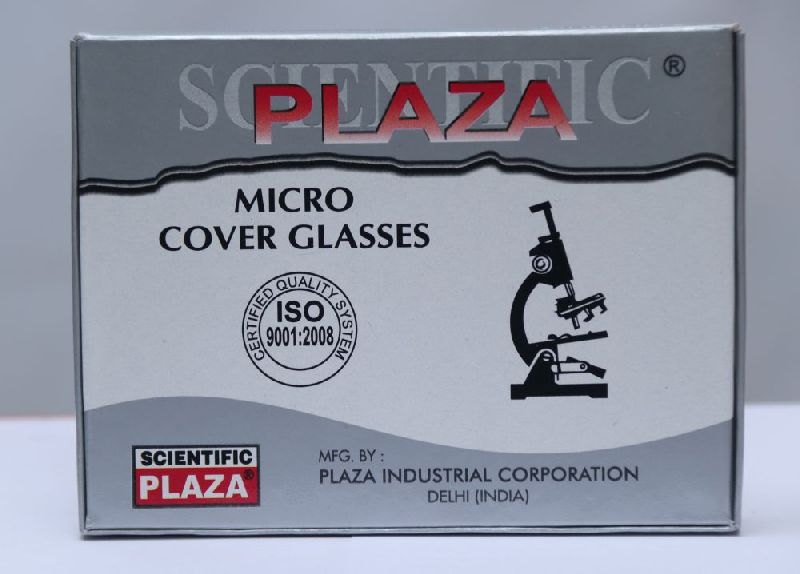 Plaza Rectangular Microscope Cover Glass