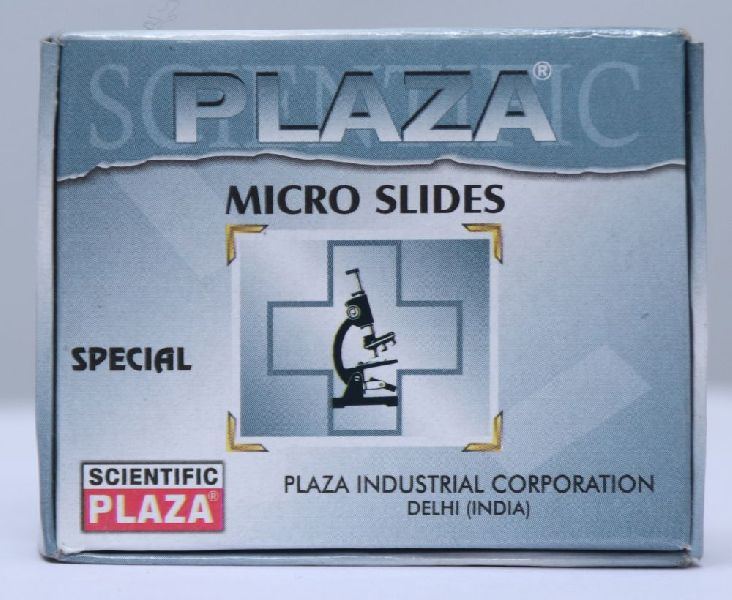 Plaza Special Microscope Glass Slide