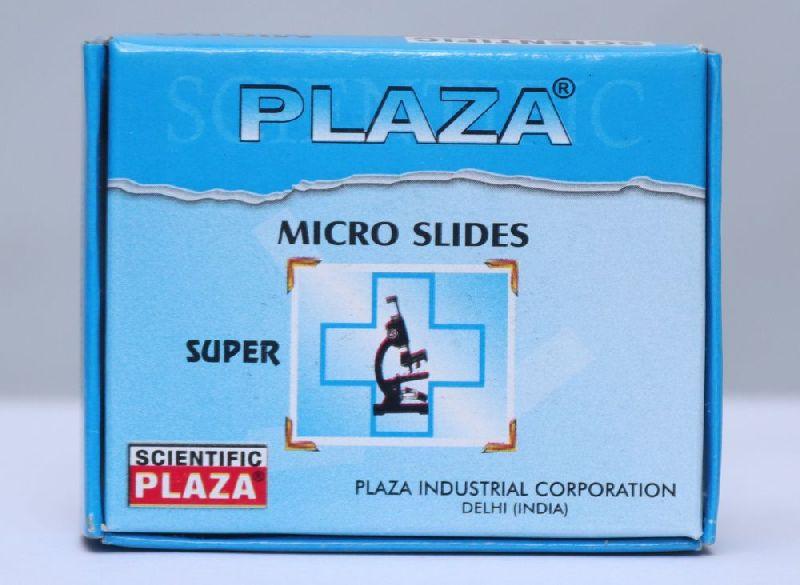 Plaza Super Microscope Glass Slide