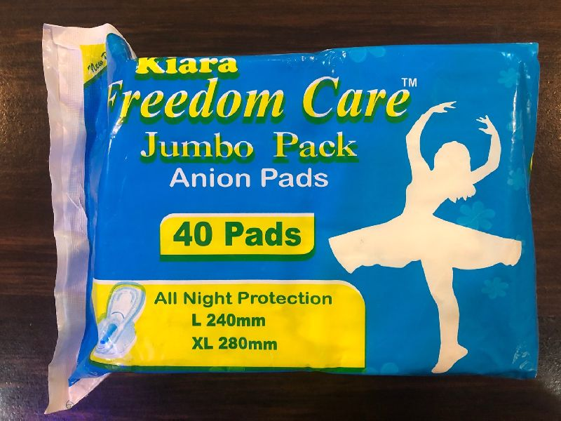 Jumbo Anion Sanitary Napkins