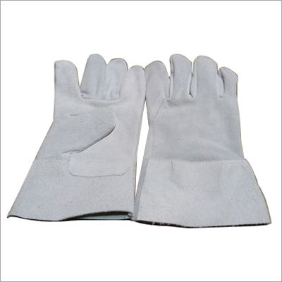 Single Palm Leather Welding Gloves