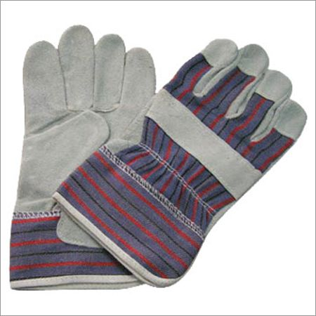Single Palm Leather Working Gloves