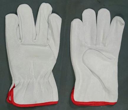 Split Leather Driving Gloves