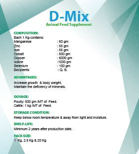 D-Mix Animal Feed Supplement