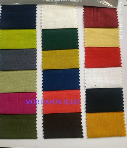 Slub Rayon Fabric