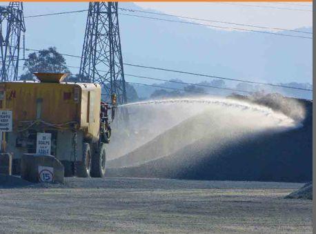 Heavy Water Dynamic Dust Suppressant