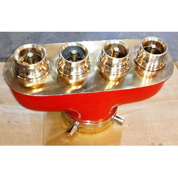 4 Way Suction Collecting Head