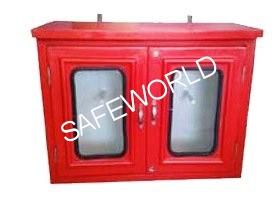 FRP Double Door Hose Box
