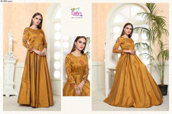 Golden Eidy Gown