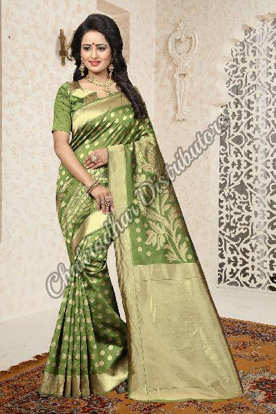 Aradhana Banarasi Silk Party Wear Saree