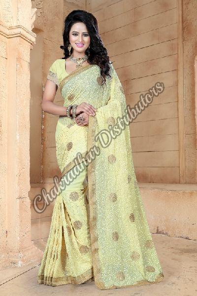 Bridal Georgette Festival Saree