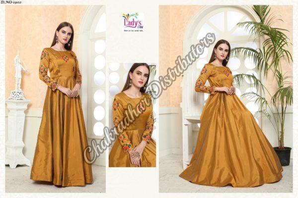 Golden Eidy Gown