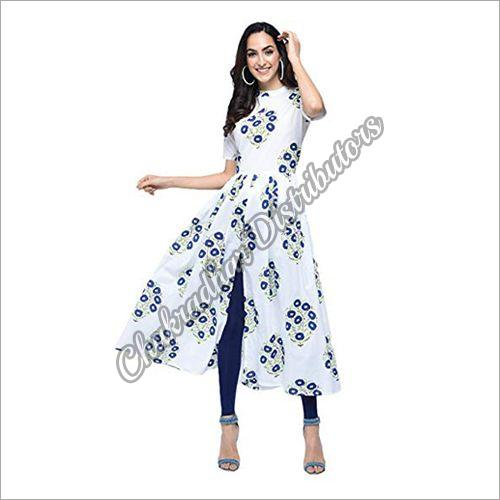 Ladies Long Designer Kurti