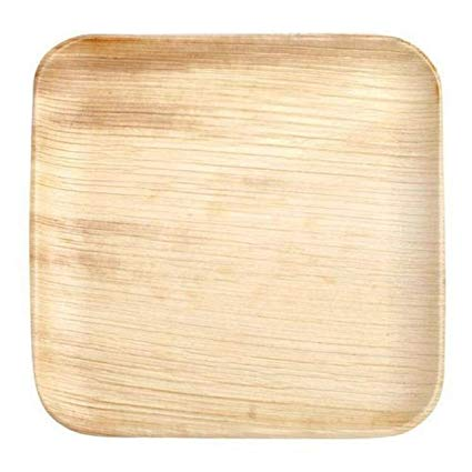 12 Inch Square Areca Leaf Plate