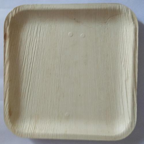 8 Inch Square Areca Leaf Plate