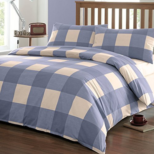 Checkered Double Bed Sheet