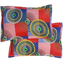 Multicolor Pillow Cover