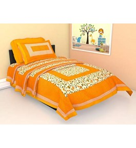 Multicolor Single Bed Sheet