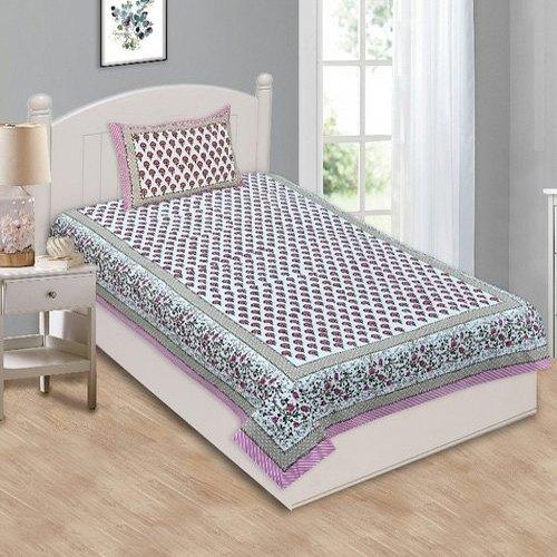 Printed Single Bed Sheet