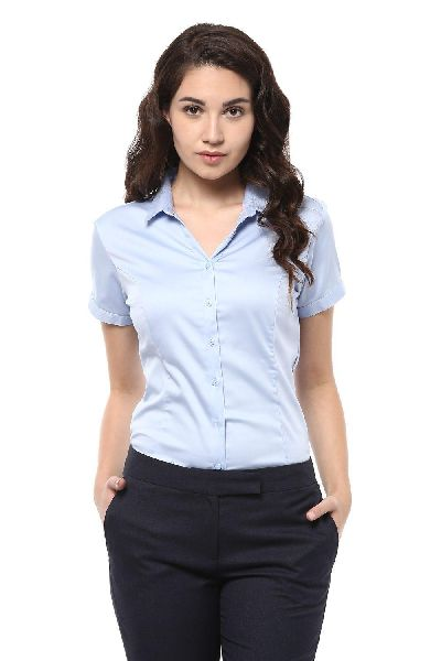 Womens Half Sleeve Shirt