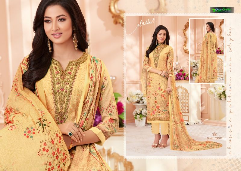 DN-13012 Ladies Designer Suits
