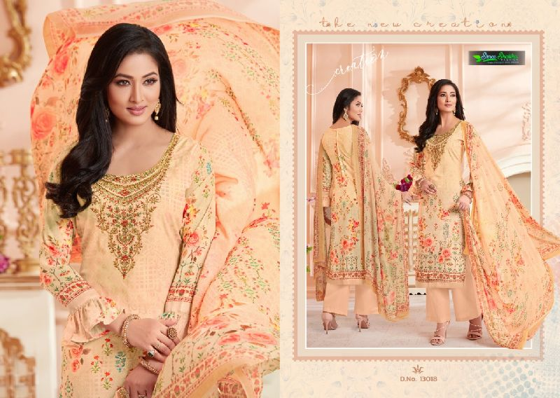 DN-13018 Ladies Designer Suits