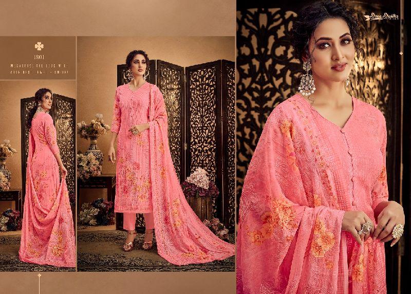 DN-1801 Ladies Designer Suits