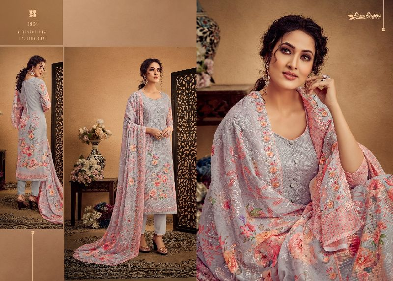 DN-1804 Ladies Designer Suits