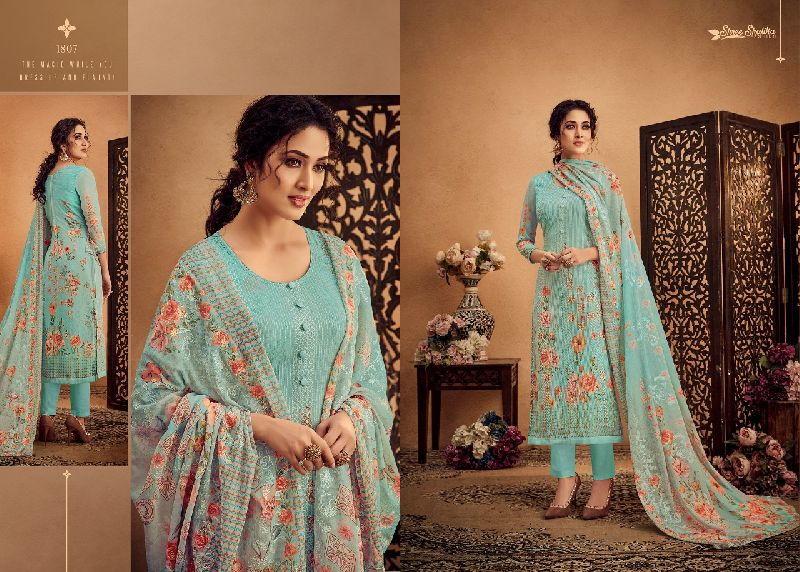 DN-1807 Ladies Designer Suits