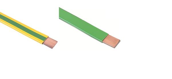 PVC Insulated Copper Tape & Strips