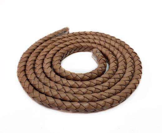 OVAL BRAIDED LEATHER CORD