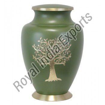 Brass Cremation Urn