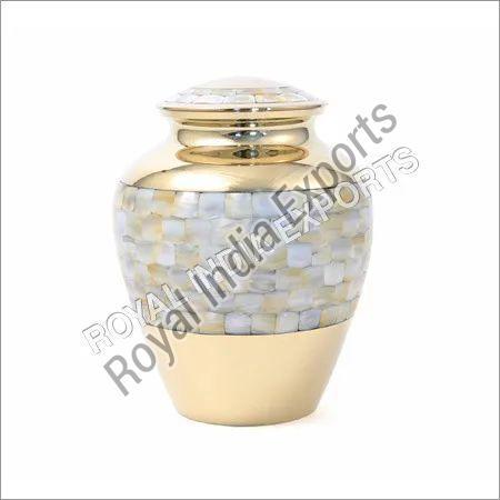 Brass Flower Urn