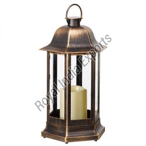 Copper Desire Candle Lantern
