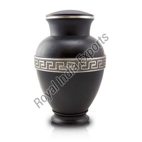Premium Black Brass Urn