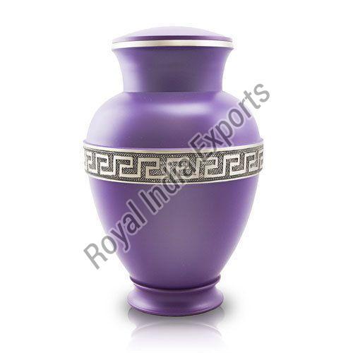 Premium Purple Brass Urn