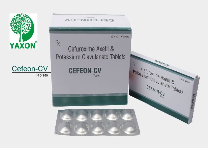 CEFUROXIME AXETIL OR CLAVULANIC ACID TABLET