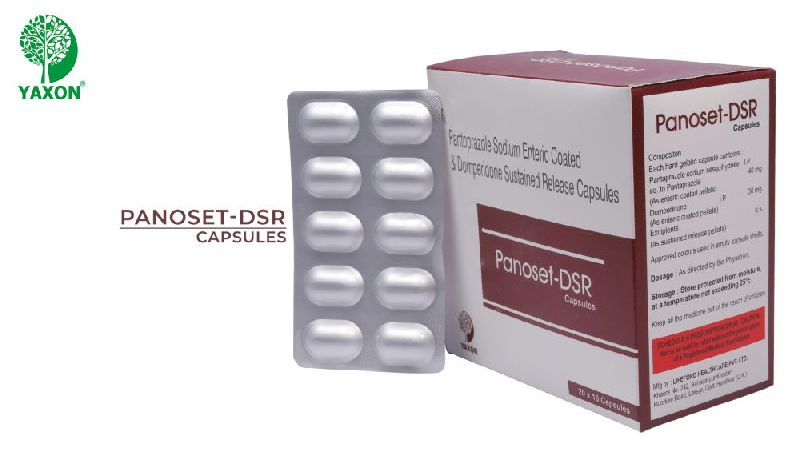 PANTOPRAZOLE SODIUM  AND DOMEPERDONE  (SUSTAINED RELEASE) CAPSULE
