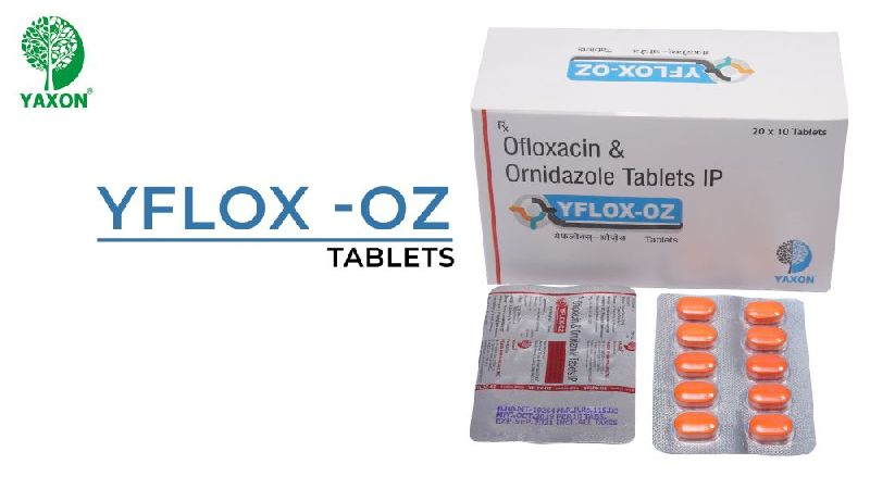 OFLOXACIN OR  ORNIDAZOLE  TABLET