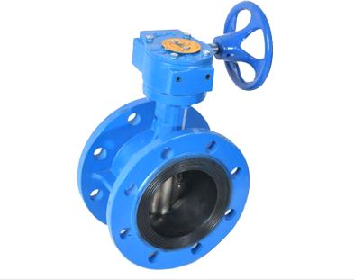 Flange With Gearbox Butterfly Valve