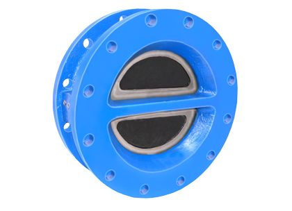 Flanged Dual Plate Check Valve