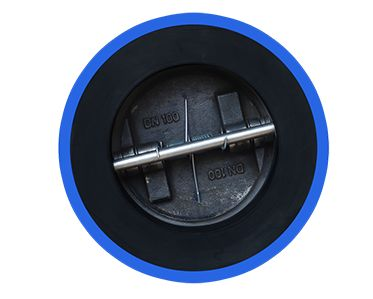 Full Rubber Dual Plate Check Valve