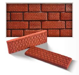 Bubble Embossed Cladding Bricks