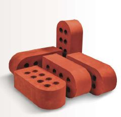 Bull Nose Clay Bricks